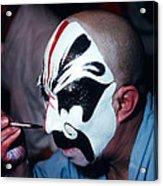 A Spooky Kabuki Acrylic Print