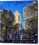 A Spring Day At Rittenhouse Square Acrylic Print