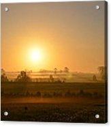 A Spring Morning At Gettysburg Acrylic Print