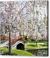 A Spring Walk Acrylic Print