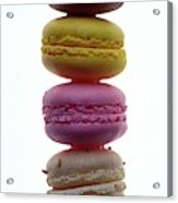 A Stack Of Macaroons Acrylic Print