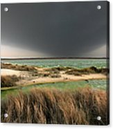 A Storm A Coming - Outer Banks I Acrylic Print by Dan Carmichael