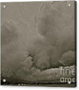 A Storm Broke Magic Landscape. Free Europe. Acrylic Print