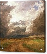 A Stormy Day Acrylic Print
