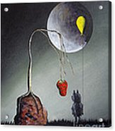 A Strange Dream By Shawna Erback Acrylic Print