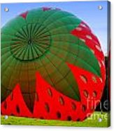 A Strawberry Balloon Acrylic Print