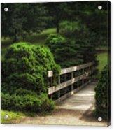 A Stroll Through The Park Acrylic Print