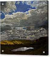 A Summer Day On Cottonwood Pass Acrylic Print