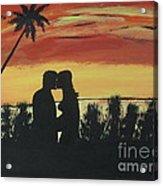 A Summer Kiss Acrylic Print