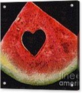 A Summer Valentine's Day Acrylic Print