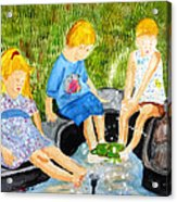 A Summers Day Acrylic Print