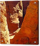 A Sun Soaked Dry Gulch Acrylic Print