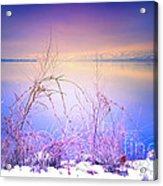 A Sunday Sunrise Acrylic Print