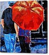 A Sunny Monet Acrylic Print