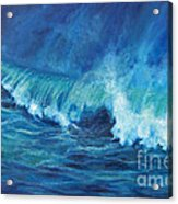A Surfer's Dream Acrylic Print