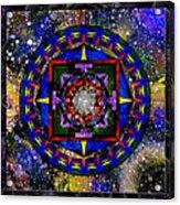 A Surrealistic Mandala Acrylic Print