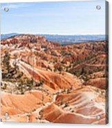 A Sweeping Vista At Bryce Canyon  Acrylic Print