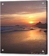 A Swift Sunset Acrylic Print
