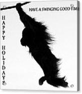 A Swinging Good Time Acrylic Print