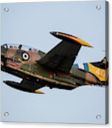 A T-2e Buckeye Trainer Aircraft Acrylic Print