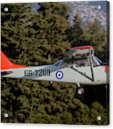 A T-41d Trainer Aircraft Acrylic Print