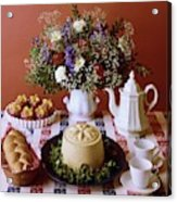A Table Of Pastries Acrylic Print