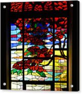 A Tale Of Windows And Magical Landscapes Acrylic Print