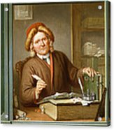 A Tax Collector, 1745 Acrylic Print by Tibout Regters