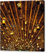 A Thousand Candles - Tunnel Of Light Acrylic Print