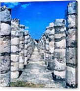 A Thousand Columns Acrylic Print