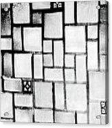 A Tiled Wall Acrylic Print