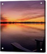 A Time To Reflect Acrylic Print
