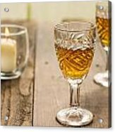 A Toast For Two Acrylic Print