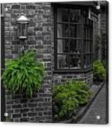 A Touch Of Green In The City Acrylic Print by Dan Sproul