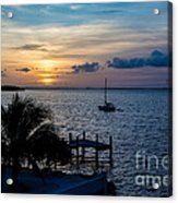 A Tranquil Conquering Of The Night Acrylic Print