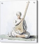A Tumboora, Musical Instrument Played Acrylic Print