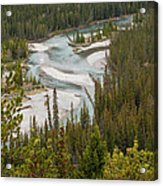 A Turn In The Bow River Acrylic Print