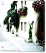 A Tuscan Street Acrylic Print