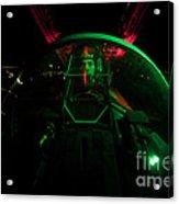 A U.s. Air Force Pilot Sits Acrylic Print