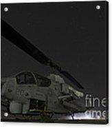 A U.s. Marine Corps Ah-1w Cobra Attack Acrylic Print