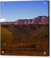 A Utah Landscape In Autumn Acrylic Print