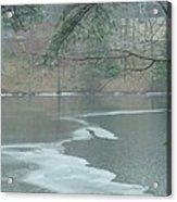 A Very Cold Rain Acrylic Print