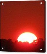 A Very Hot Sunset Acrylic Print
