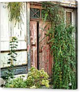 A Very Old Door Acrylic Print