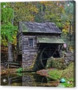 A Very Old Grist Mill Acrylic Print