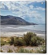 A View From Buffalo Point Of White Rock Bay Acrylic Print