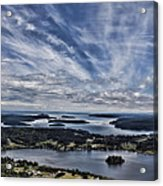 A View From Mt. Erie Acrylic Print
