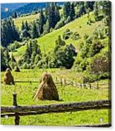 A View From The Carpathians Acrylic Print