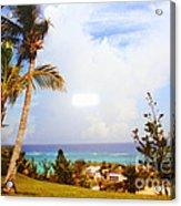 A View Of Bermuda Acrylic Print