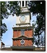 A View Of Independence Hall Acrylic Print